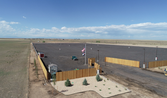 Front Range RV Storage - New RV and Boat Storage Facility | Secure, Clean Storage Lot Near Airport